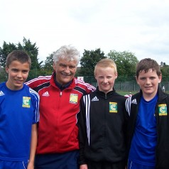 Coerver Coaching Irish Academy player on trial at Atletico Madrid