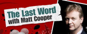 "Radio Interview on ""The last word"" with Matt Cooper @ 6.20pm 5th Jan'11"