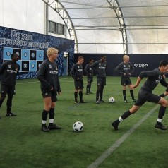 Manchester City Academy soon to be one of Europes best!