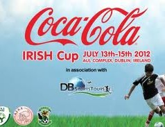 Coca-Cola Irish Cup with Ajax & Ireland