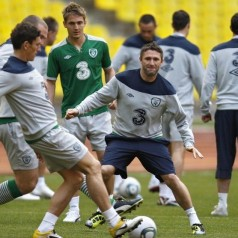 Open Training session with Irish Squad