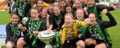 Peamount fly the flag for Ladies soccer