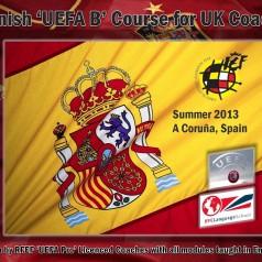 Spanish UEFA B license Courses