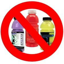Sports Drinks, Overhyped, Overrated and Unhealthy for our kids.