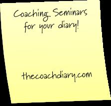 Coaching Seminars This September 2014